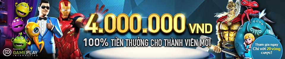 Khuyến mãi lên tới 4 triệu tại W88 - Nhà cái cá độ online hàng đầu Việt Nam