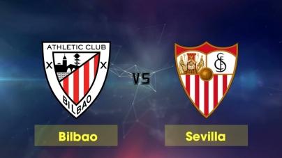 Soi kèo Athletic Bilbao vs Sevilla, 01h30 ngày 11/01, Cúp Nhà vua Tây Ban Nha