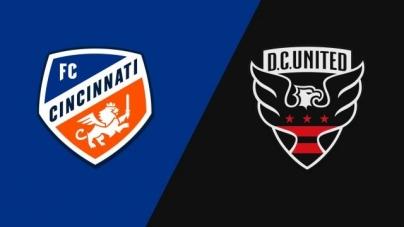 Soi kèo FC Cincinnati vs DC United, 07h00 ngày 19/07, Nhà nghề Mỹ