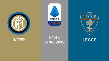 Soi kèo Inter Milan vs Lecce, 01h45 ngày 27/08, VĐQG Italia