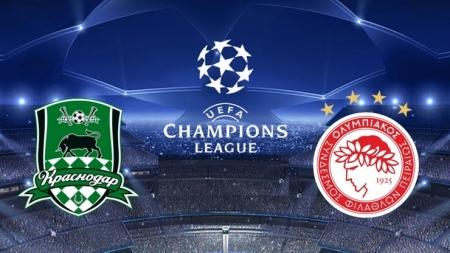 Soi kèo Krasnodar vs Olympiakos, 02h00 ngày 28/08, Champions League